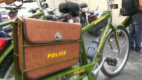 Chính thức ra mắt xe đạp đi tuần của Công an Hà Nội - ảnh 7
