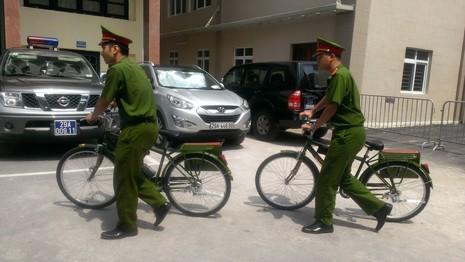 Chính thức ra mắt xe đạp đi tuần của Công an Hà Nội - ảnh 2
