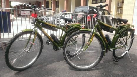 Chính thức ra mắt xe đạp đi tuần của Công an Hà Nội - ảnh 6
