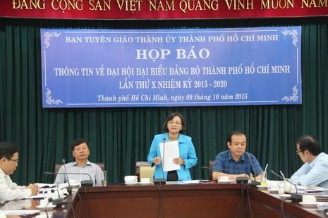 445 đại biểu dự Đại hội Đảng bộ TP.HCM - ảnh 1