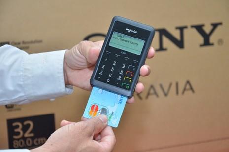 Thanh toán thẻ ngay tại nhà với Nguyễn Kim mPOS  - ảnh 1