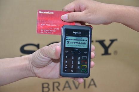 Thanh toán thẻ ngay tại nhà với Nguyễn Kim mPOS  - ảnh 2