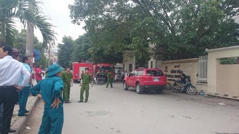 Cháy tại BV Lão Trung ương, bệnh nhân tháo chạy - ảnh 2