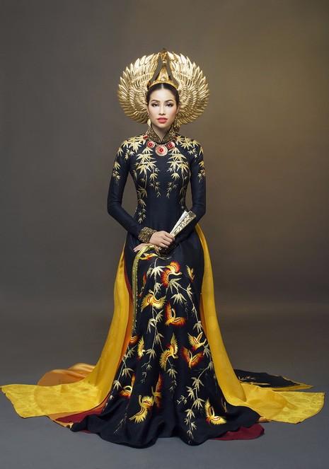 Công bố trang phục dân tộc của Phạm Hương - ảnh 5