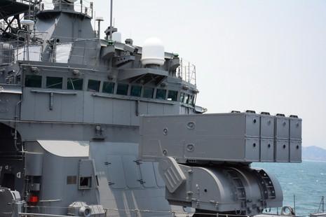 Đón 2 tàu hộ vệ của Nhật Bản thăm cảng Cam Ranh - ảnh 8