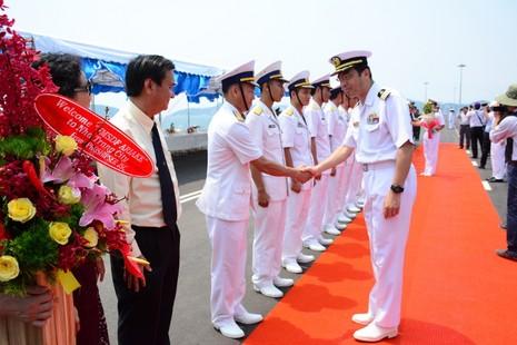 Đón 2 tàu hộ vệ của Nhật Bản thăm cảng Cam Ranh - ảnh 2