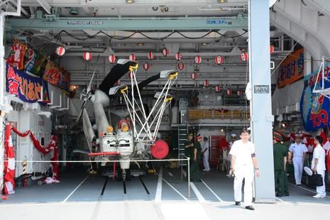 Đón 2 tàu hộ vệ của Nhật Bản thăm cảng Cam Ranh - ảnh 5