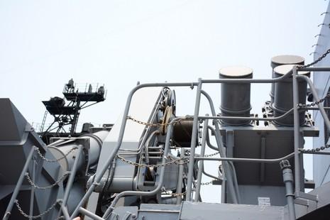 Đón 2 tàu hộ vệ của Nhật Bản thăm cảng Cam Ranh - ảnh 7