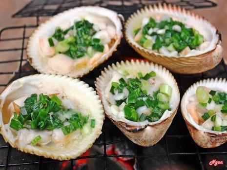 hải sản nướng