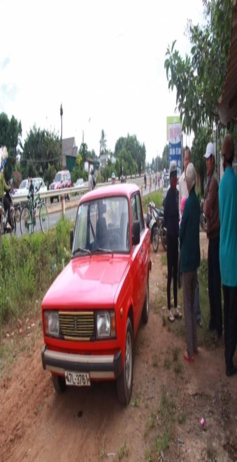 xe của nạn nhân