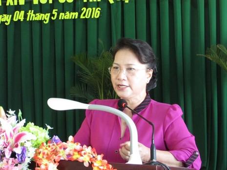 Bà Nguyễn Thị Kim Ngân: 'Chúng ta không cam chịu, không cúi đầu!' - ảnh 4
