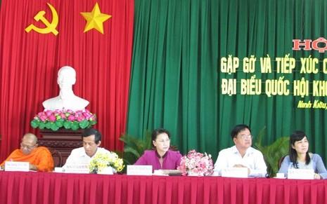 Bà Nguyễn Thị Kim Ngân: 'Chúng ta không cam chịu, không cúi đầu!' - ảnh 1
