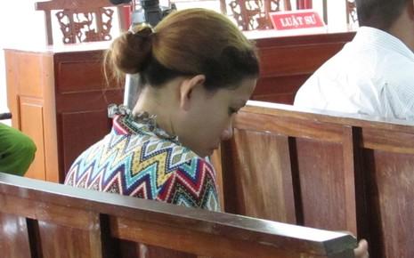Bị cáo Thảo tại tòa phúc thẩm ngày 14-9. Ảnh: N.NAM