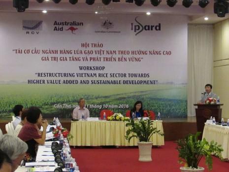 Gần 7.000 tỉ đồng tái cấu trúc ngành hàng lúa gạo - ảnh 1