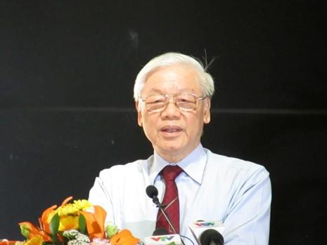 Tổng Bí thư: MTTQ VN cần tích cực chống tham nhũng - ảnh 1