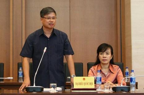 ĐBQH Nguyễn Sỹ Cương