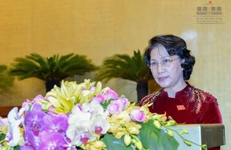 Quốc hội kêu gọi cả nước ủng hộ đồng bào miền Trung - ảnh 1