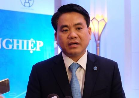 Chủ tịch Hà Nội: Sẵn sàng trợ giúp cho DN mọi lúc - ảnh 1