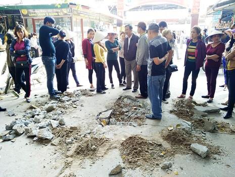 Tự ý đóng cửa chợ gốm Bát Tràng là sai - ảnh 3
