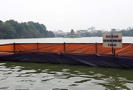 Hà Nội sẽ nạo vét Hồ Gươm trong 69 ngày  - ảnh 1