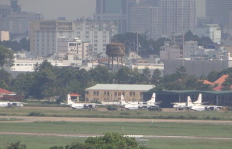 Phương án xây hồ chống ngập sân bay Tân Sơn Nhất - ảnh 1
