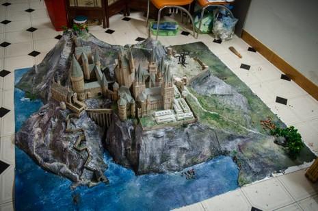 9x 'xây' trường Hogwarts đẹp từng milimet - ảnh 2
