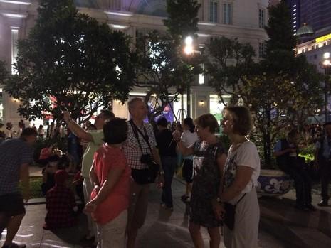 Hàng ngàn người đổ về phố đi bộ đón giao thừa - ảnh 11