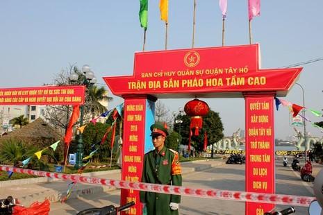 Hà Nội: Sẵn sàng khai hỏa 31 trận địa pháo trong đêm giao thừa - ảnh 8