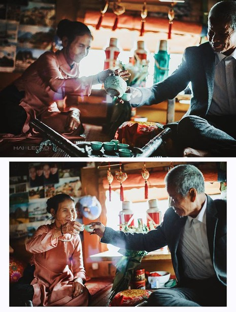 Bộ ảnh cưới của cặp vợ chồng già vớt xác ở sông Hồng - ảnh 8