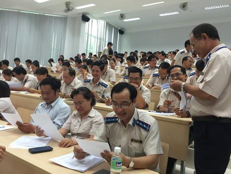 Hội thi chấp hành viên giỏi TP.HCM  - ảnh 1
