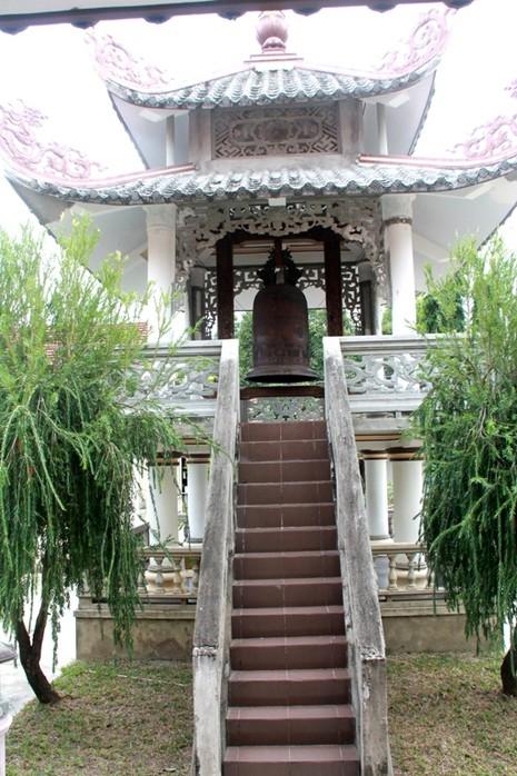 Chiêm ngưỡng chiếc trống độc nhất vô nhị ở ngôi chùa quê - ảnh 5