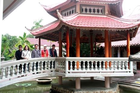 Chiêm ngưỡng chiếc trống độc nhất vô nhị ở ngôi chùa quê - ảnh 4