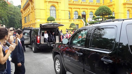 Chùm ảnh: Lễ đón chính thức Tổng thống Obama  - ảnh 9