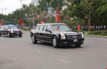 Video: Đoàn xe Tổng thống Obama trên đường phố Sài Gòn - ảnh 5