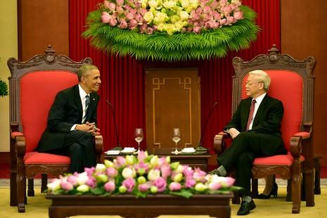 Chuyến đi của Tống thống Obama dưới ống kính PV nước ngoài - ảnh 11