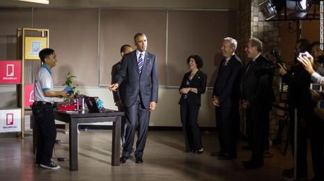 Chuyến đi của Tống thống Obama dưới ống kính PV nước ngoài - ảnh 21