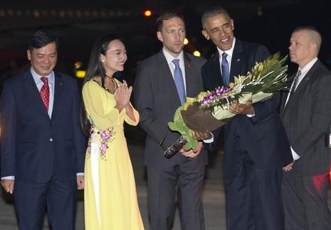 Chuyến đi của Tống thống Obama dưới ống kính PV nước ngoài - ảnh 2