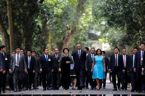 Chuyến đi của Tống thống Obama dưới ống kính PV nước ngoài - ảnh 7