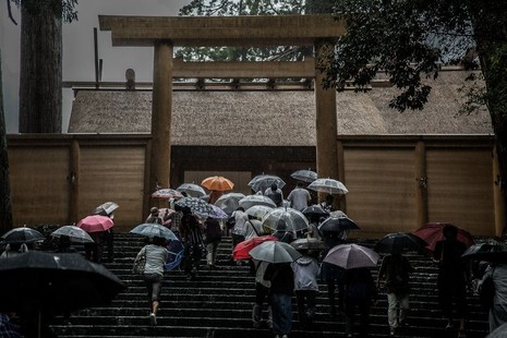 Mùa mưa Nhật bản đẹp tựa tranh vẽ