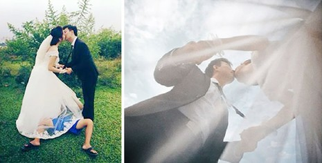 Chùm ảnh minh chứng chụp ảnh cưới là nghề khổ nhất năm - ảnh 11
