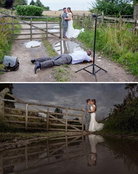 Chùm ảnh minh chứng chụp ảnh cưới là nghề khổ nhất năm - ảnh 20