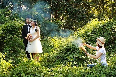 Chùm ảnh minh chứng chụp ảnh cưới là nghề khổ nhất năm - ảnh 13