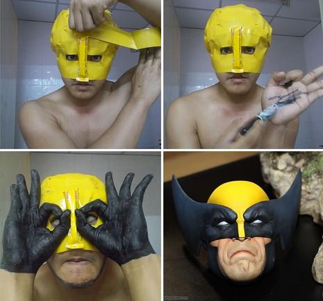 Wolverine với bàn tay đen thui