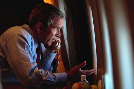 Bên trong chuyên cơ Tổng thống Mỹ Bush ngay sau vụ 11-9 - ảnh 10