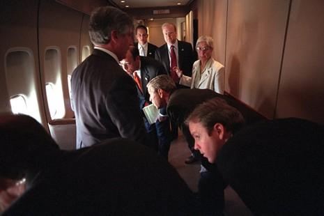 Bên trong chuyên cơ Tổng thống Mỹ Bush ngay sau vụ 11-9 - ảnh 5