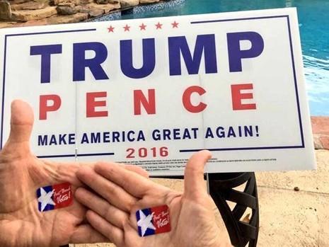 Không khí bầu cử Mỹ qua ảnh - ảnh 2