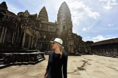 Cô gái du lịch quanh thế giới trong thời gian ngắn nhất - ảnh 9
