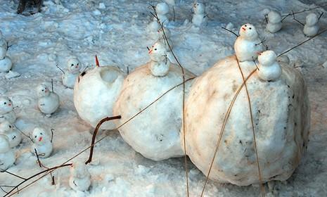 Những người tuyết kinh dị nhất thế giới - ảnh 10