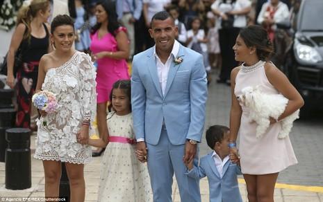 Đám cưới linh đình của ngôi sao Carlos Tevez - ảnh 3