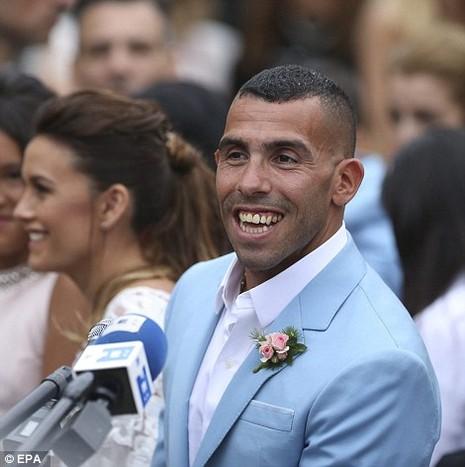 Đám cưới linh đình của ngôi sao Carlos Tevez - ảnh 4